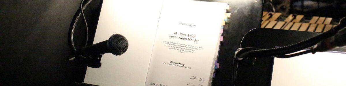 M - eine Stadt sucht einen Mörder Regie: Barrie Kosky Sprecherin